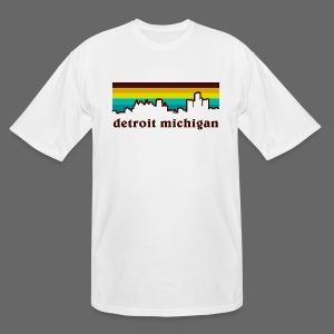 detroit michigan - Men's Tall T-Shirt
