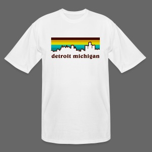 detroit michigan - Men's Tall T-Shirt