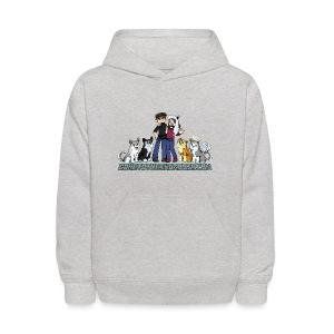 Pixel Snow Dogs | Kids Hoodie - Kids' Hoodie