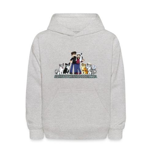 Pixel Snow Dogs   Kids Hoodie - Kids' Hoodie