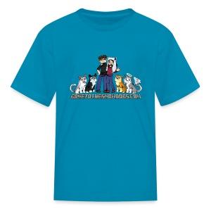 Pixel Snow Dogs | Kids T-Shirt - Kids' T-Shirt
