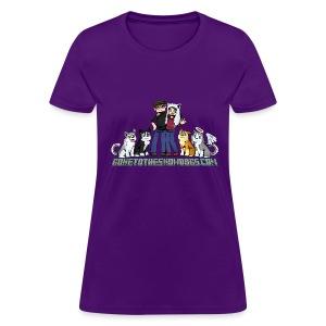 Pixel Snow Dogs | Women's T-Shirt - Women's T-Shirt
