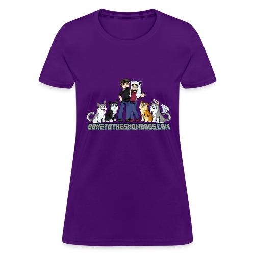 Pixel Snow Dogs   Women's T-Shirt - Women's T-Shirt