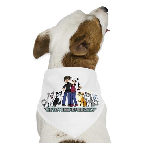 Pixel Snow Dogs | Dog Bandana - Dog Bandana