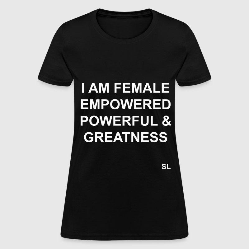 FEMALE Empowerment Quotes TShirt  Spreadshirt