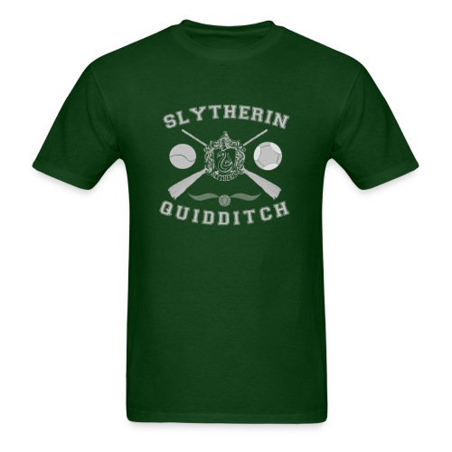 Slytherin Quidditch Unisex T-Shirt - Men's T-Shirt