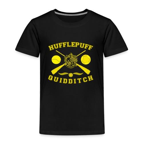 Hufflepuff Quidditch Toddler's T-Shirt - Toddler Premium T-Shirt