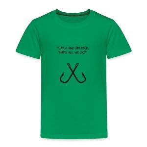 Hooked Motto Green - Toddler Premium T-Shirt
