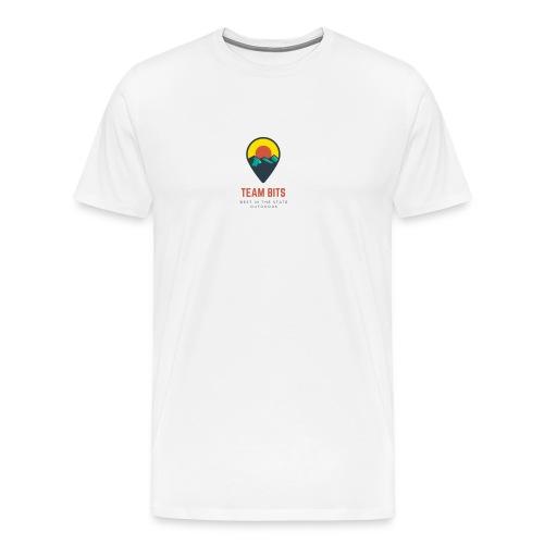 Team BITS White - Men's Premium T-Shirt