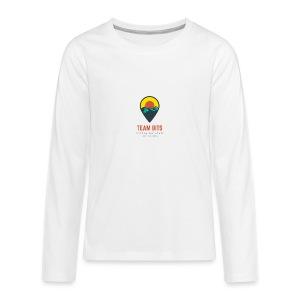 Team BITS Long Sleeve White - Kids' Premium Long Sleeve T-Shirt