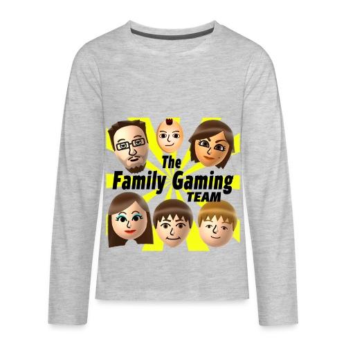 FGTEEV LONG SLEEVE (Transparent Background) - Kids' Premium Long Sleeve T-Shirt