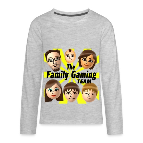 FGTEEV LONG SLEEVE (Transparent Background) - Kids' Premium Long Sleeve T-Shirt