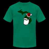 T-Shirts ~ Men's T-Shirt by American Apparel ~ Santa State