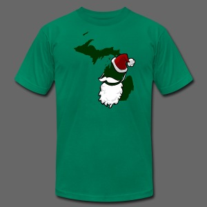 Santa State - Men's T-Shirt by American Apparel