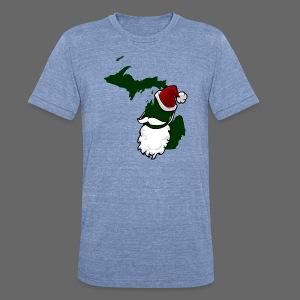 Santa State - Unisex Tri-Blend T-Shirt