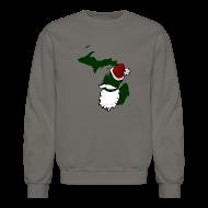 Long Sleeve Shirts ~ Crewneck Sweatshirt ~ Santa State