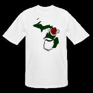T-Shirts ~ Men's Tall T-Shirt ~ Santa State