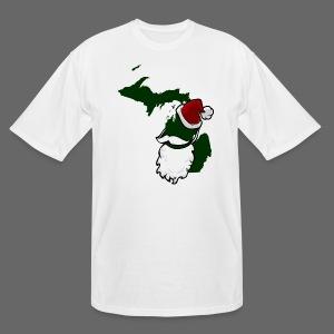 Santa State - Men's Tall T-Shirt