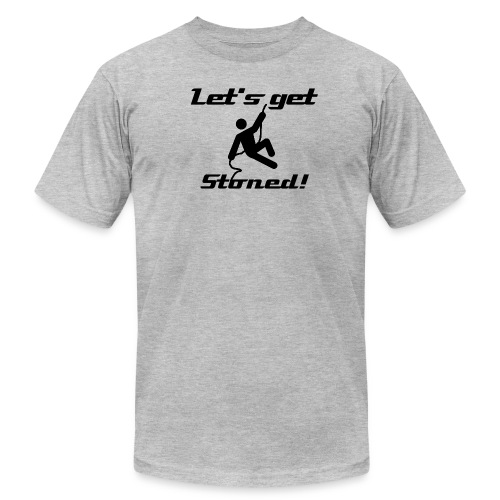 Let's get Stoned! - Men's  Jersey T-Shirt