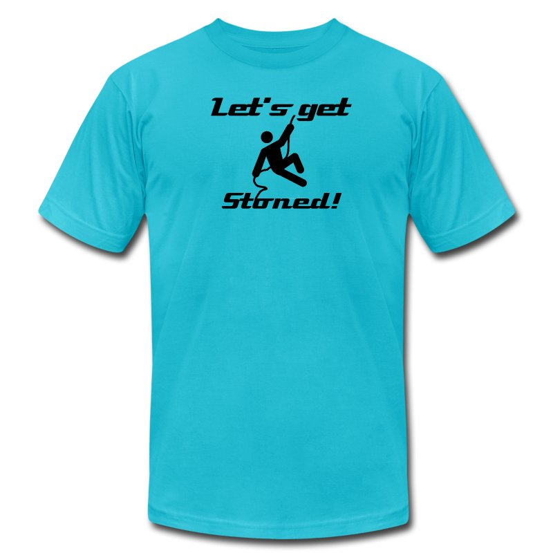 Let's get Stoned! - Men's T-Shirt by American Apparel