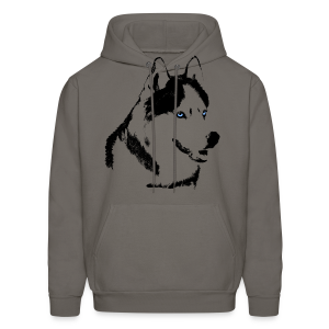 Husky Hoodies Siberian Husky Shirt Wolf Dog Hoodies - Men's Hoodie