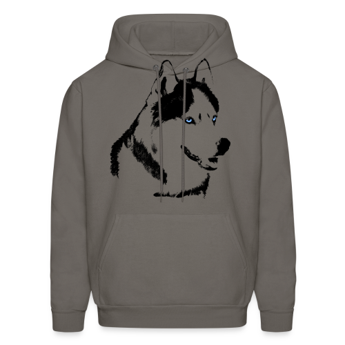Husky Hoodies Siberian Husky Shirt Wolf Dog Hoodies - Men's Hoodie