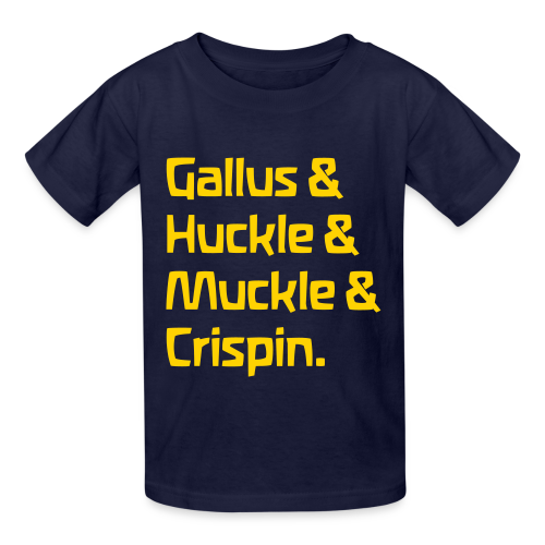 Gallus & Huckle & Muckle & Crispin - Kids' T-Shirt