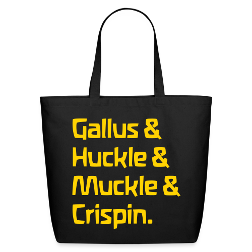 Gallus & Huckle & Muckle & Crispin - Eco-Friendly Cotton Tote