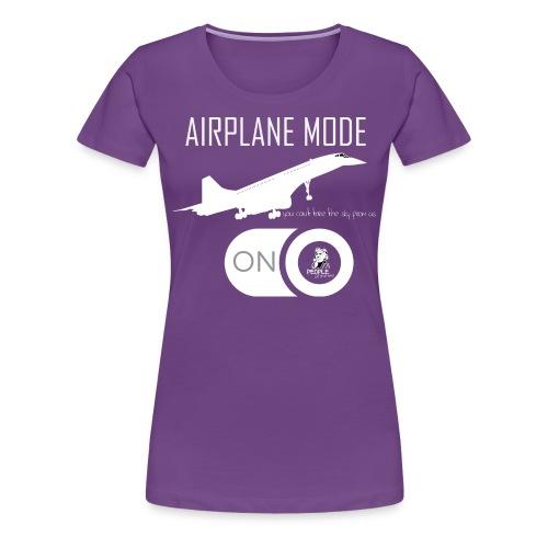 Airplane Mode - Concorde | Women - Women's Premium T-Shirt