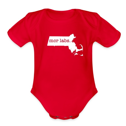 Mass Lab - Organic Short Sleeve Baby Bodysuit