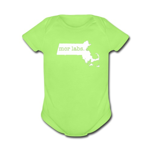 Mass Lab - Organic Short Sleeve Baby Bodysuit