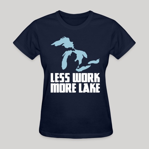 Less work, MORE LAKE!