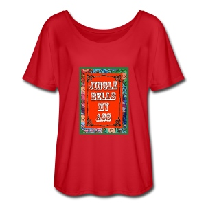 Jingle Bells... - Women's Flowy T-Shirt