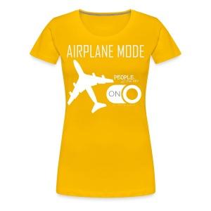 Airplane Mode 747   Women - Women's Premium T-Shirt