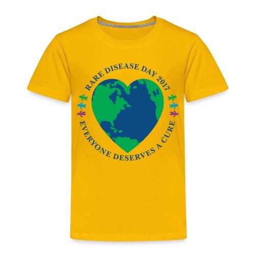 Rare Disease Day 2017 - toddler premium t-shirt - Toddler Premium T-Shirt