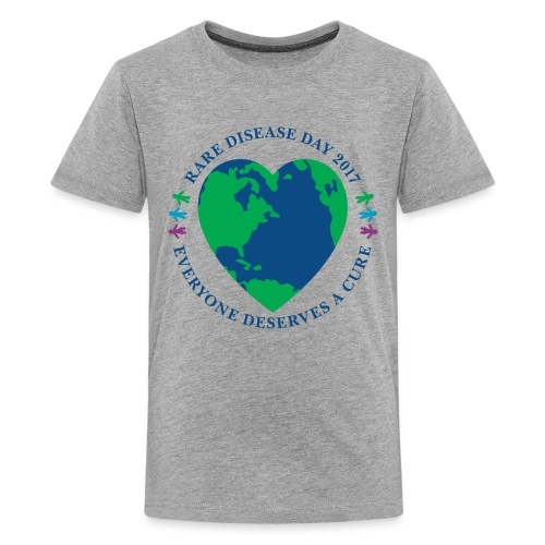 Rare Disease Day 2017 - kid's premium t-shirt - Kids' Premium T-Shirt
