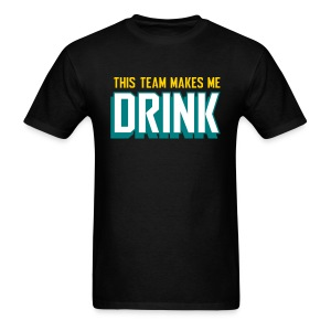 Jags make me drink - Men's T-Shirt