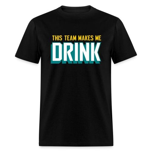 Jags make me drink - Men's T-Shirt