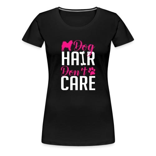 Alaskan Malamute Dog Hair Women's Plus Size Shirt - Women's Premium T-Shirt