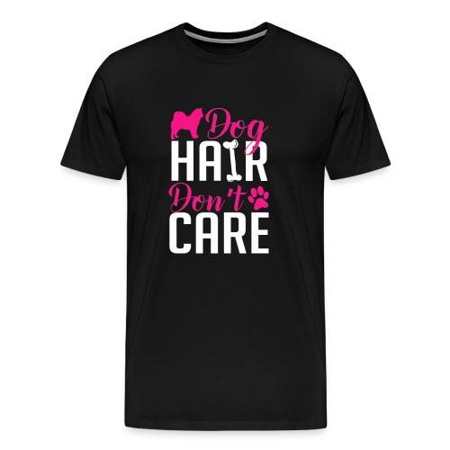 Alaskan Malamute Dog Hair Big & Tall Shirt - Men's Premium T-Shirt