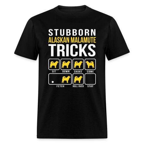 Alaskan Malamute Tricks Men's Shirt - Men's T-Shirt