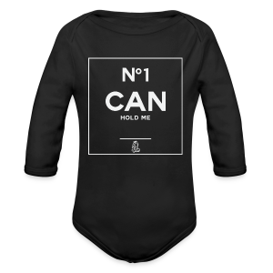 No1 Can Hold Me (baby) - Long Sleeve Baby Bodysuit
