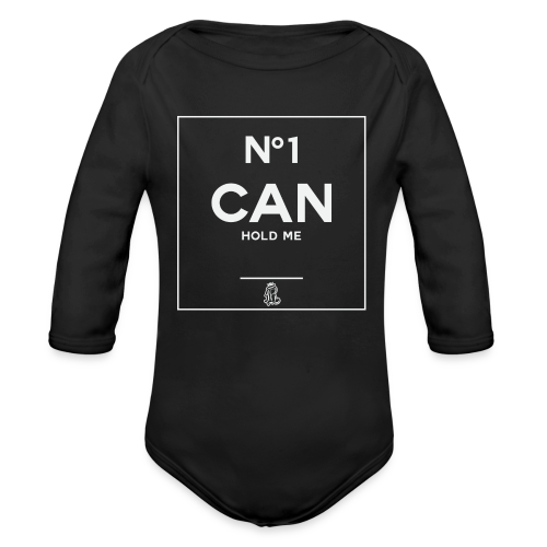 No1 Can Hold Me (baby) - Organic Long Sleeve Baby Bodysuit