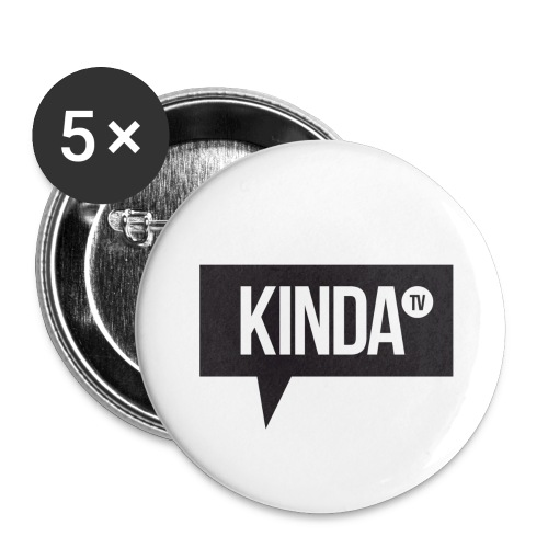 Large KindaTV Buttons - Large Buttons