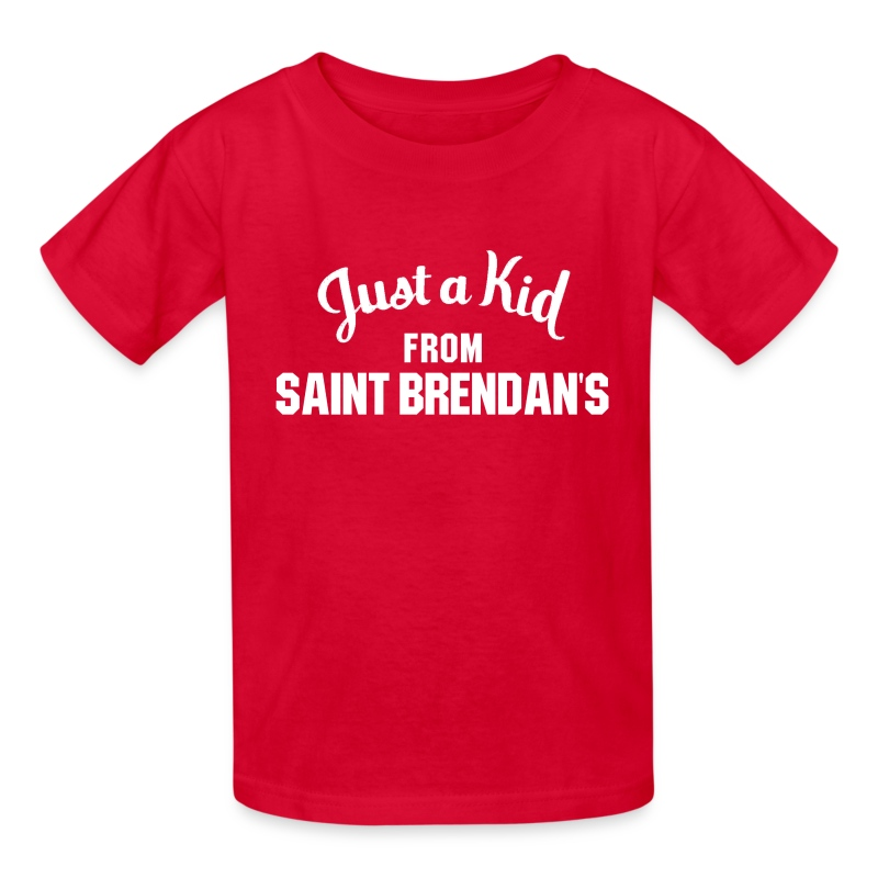 Just a Kid from St. Brendan's Kids - Kids' T-Shirt