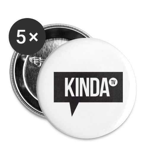 Small KindaTV Buttons - Small Buttons