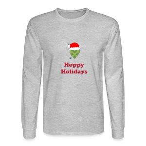 Hoppy Holidays - Men's Long Sleeve T-Shirt