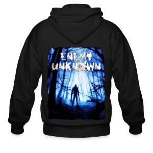 Enemy Unknown - Men's Zip Hoodie