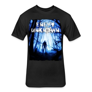 Enemy Unknown - Fitted Cotton/Poly T-Shirt by Next Level