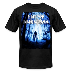 Enemy Unknown - Men's T-Shirt by American Apparel